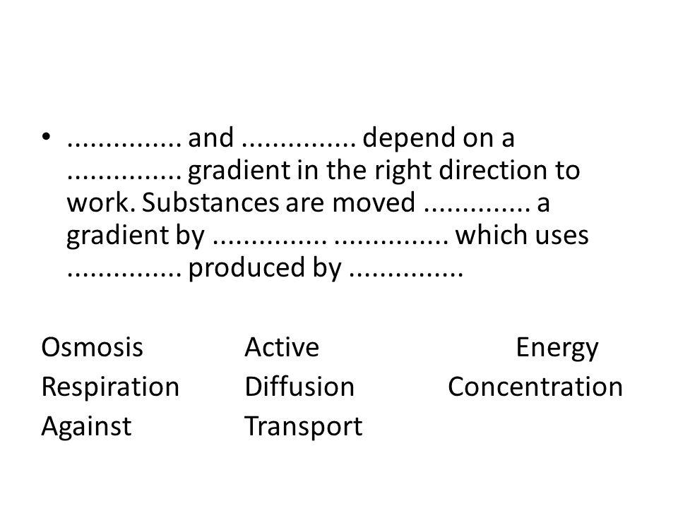 Diffusion Osmosis Active Transport Venn Diagram