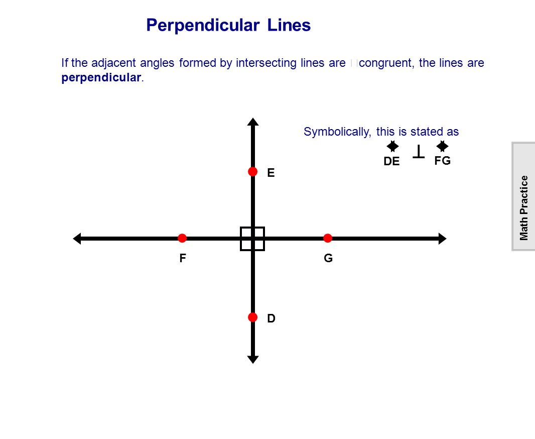 Worksheet On Identify Parallel Lines Perpendicular Graph