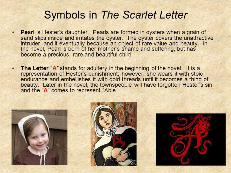 Symbolism In The Scarlet Letter Pearl Letterjdi