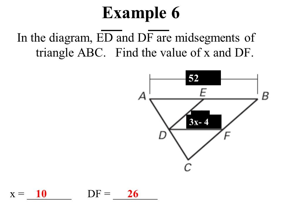 Midsegment Theorem Triangle Definition