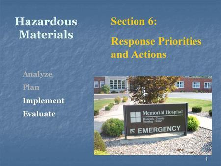 Hazardous Materials. HAZMAT Definition (USDOT) Any ...