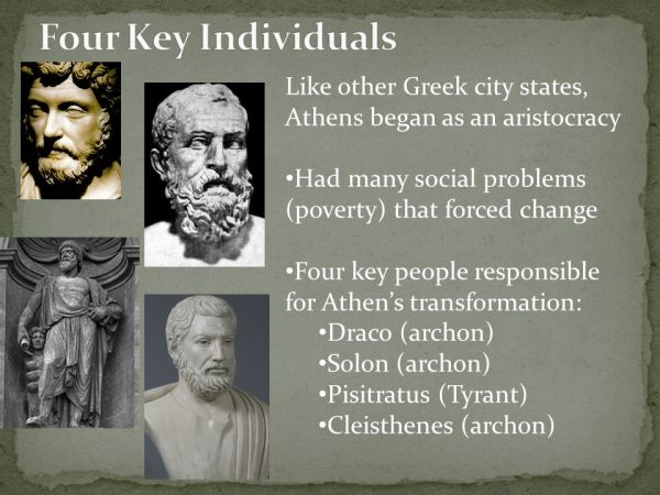 Athens – From Aristocracy to Democracy - ppt video online ...