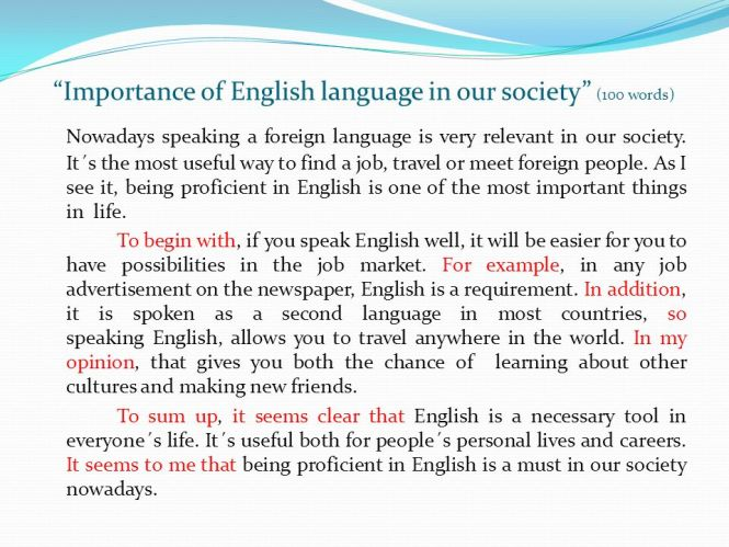 Essay On Importance Of English Language  Oklmindsproutco Essay On Importance Of English Language Importance Of English Language  Express