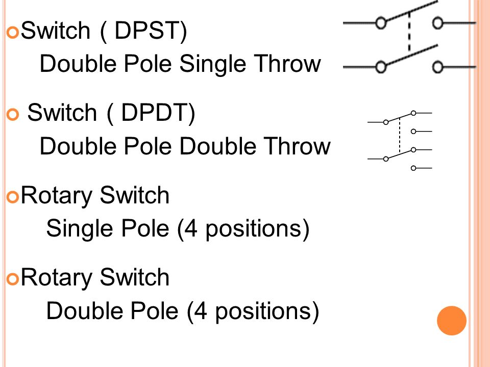 wiring diagram double throw switch