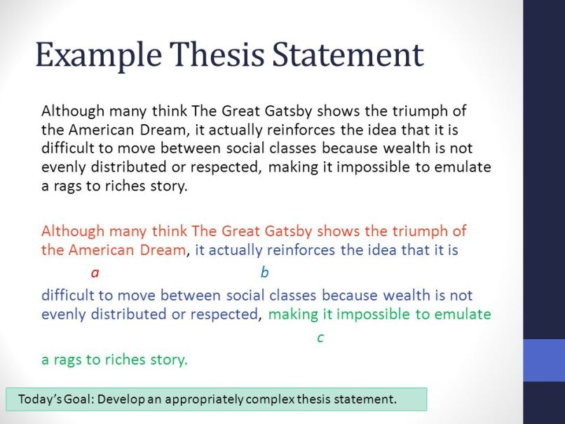 american dream essay thesis statement  mistyhamel american dream essay thesis poemdoc or