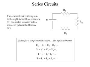Series and Parallel Circuits  ppt video online download