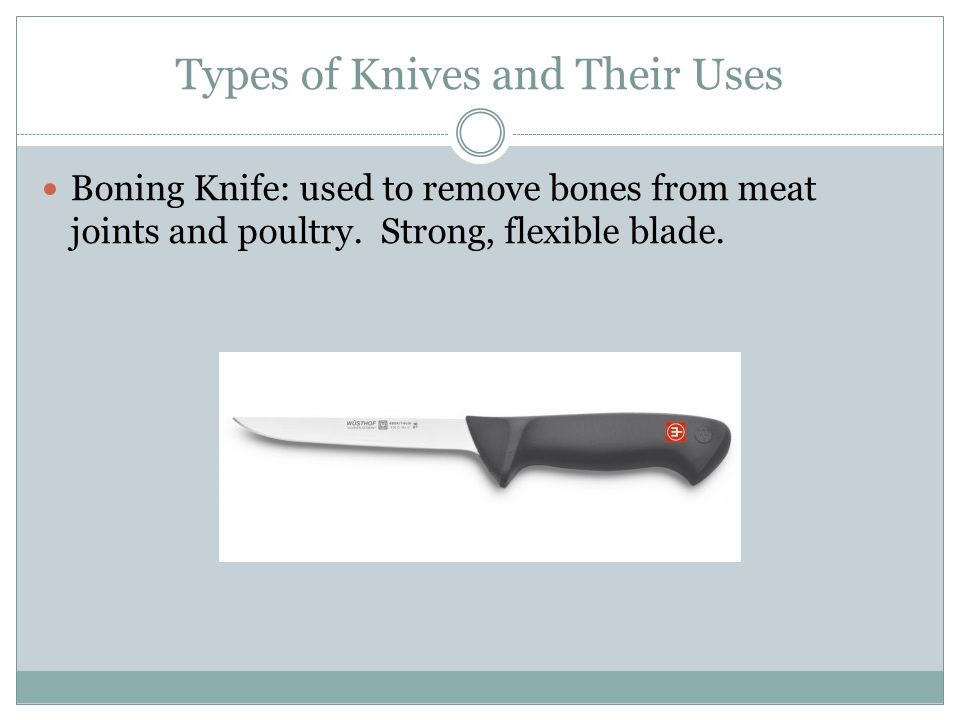 Kind Do Knives What Chefs Use