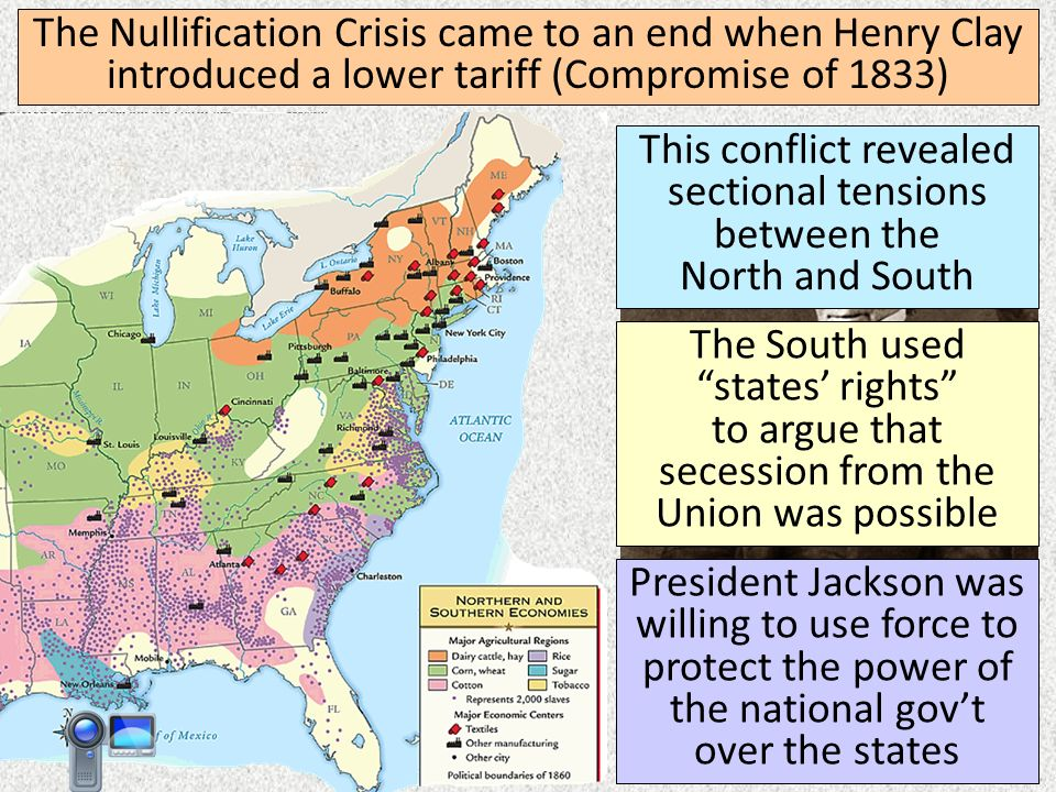 nullification crisis of 1832