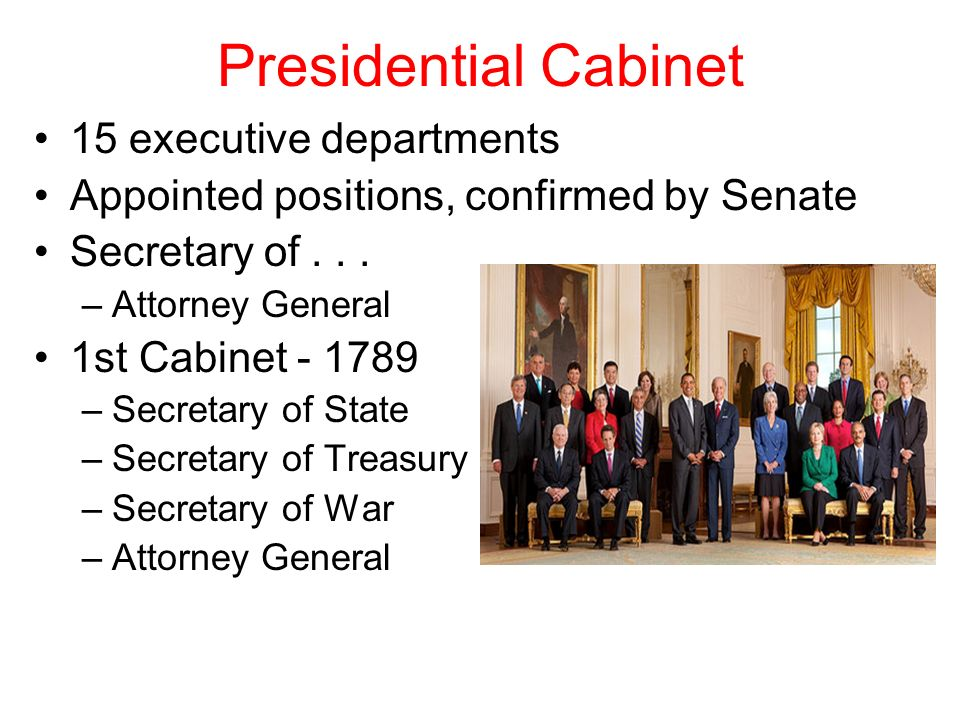 What Is The Main Purpose Of Presidential Cabinet ...