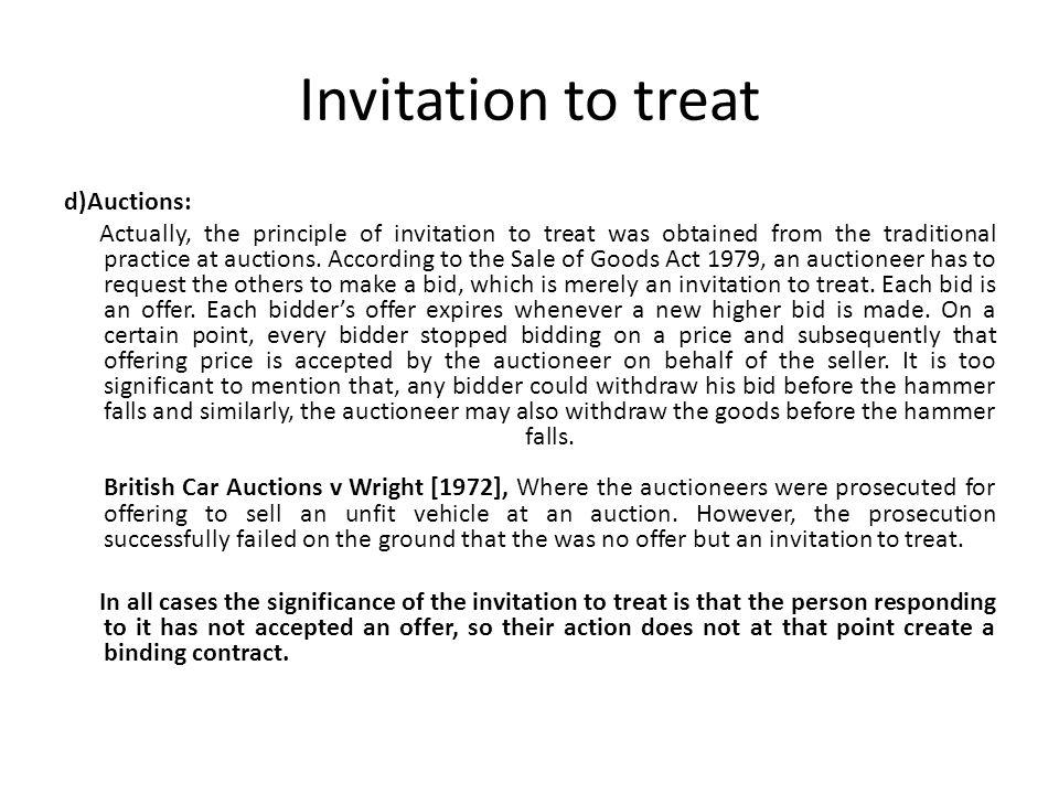 Cases on invitation to treat invitationjdi invitation to treat and offer invitationjdi co stopboris Choice Image