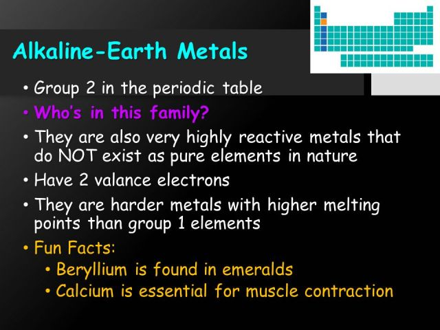 Alkali earth metals in periodic table choice image periodic what part of the periodic table is alkaline earth metals choice facts about alkaline earth metals urtaz Gallery