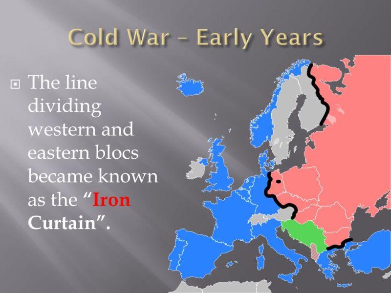 cold war quizlet