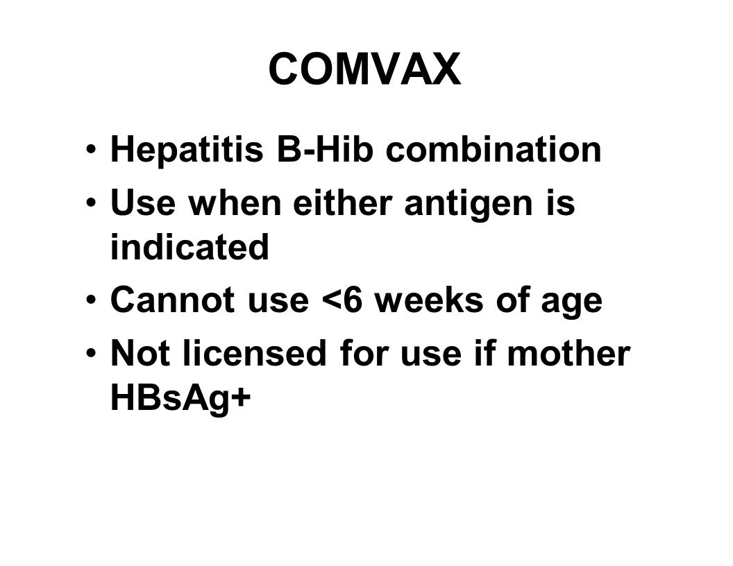 Hepatits B Vaccine