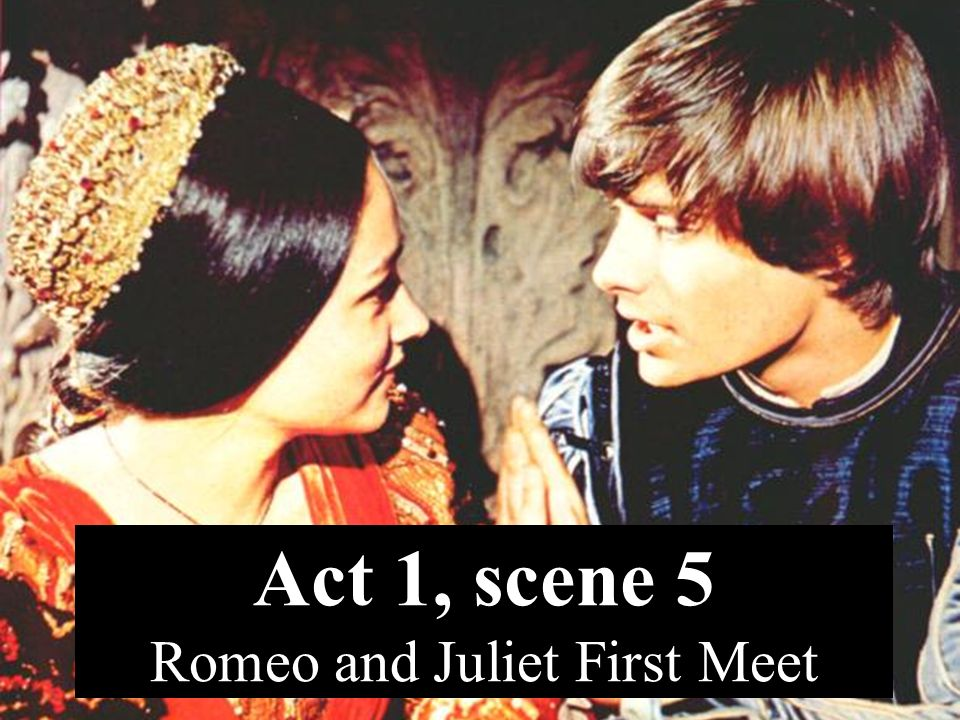 Romeo And Juliet First Met