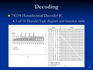 Code Converters, Multiplexers and Demultiplexers  ppt