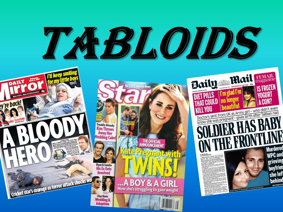 Image result for image of tabloids
