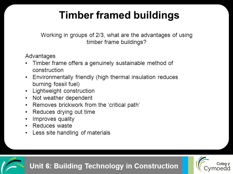 Timber Frame Construction Advantages And Disadvantages | Siteframes.co