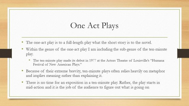 Play Writing Creative Writing 13 Holt ppt download