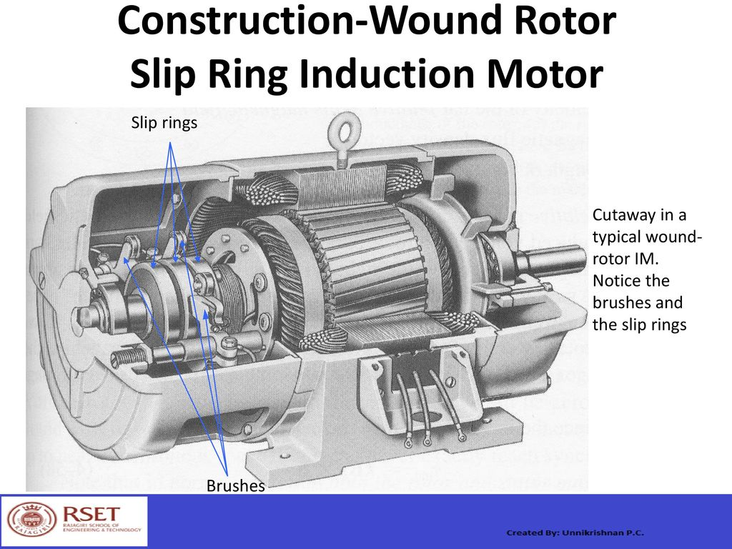Wound Rotor Ac Motor
