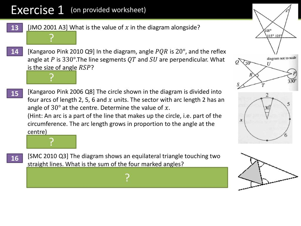 Dr J Frost Year 7 Angles Dr J Frost Objectives