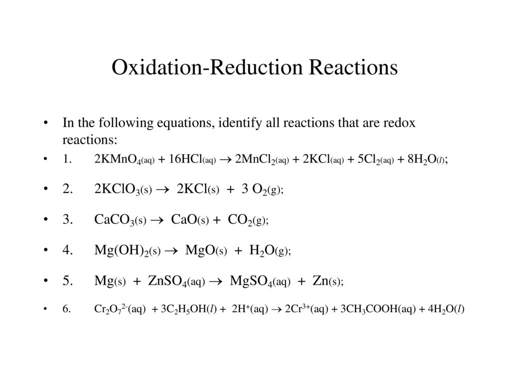 Chemical Reactions And Stoichiometry