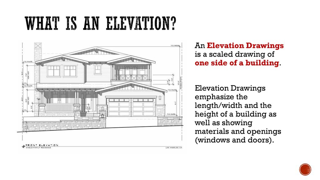 Architectural Drawings Ppt Download