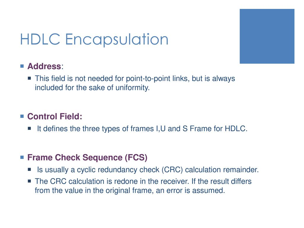 Frame Check Sequence Fcs Calculation Explained | Siteframes.co
