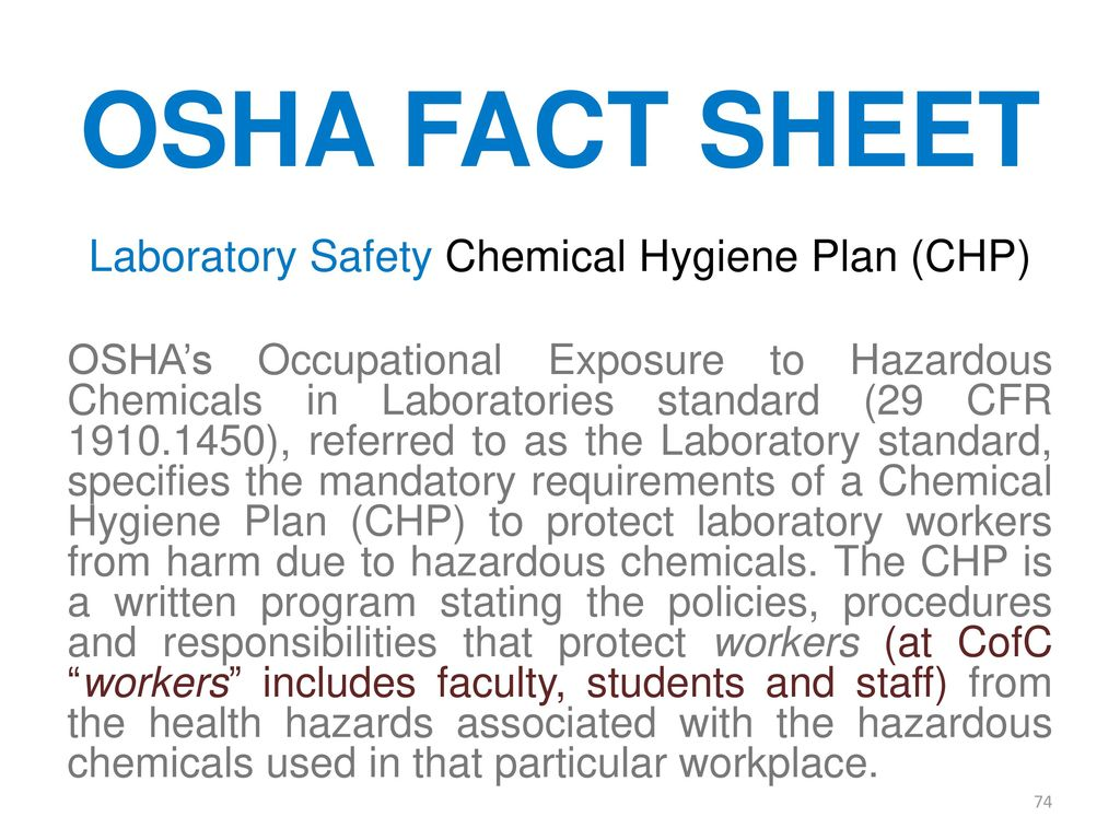 Safety In An Organic Lab