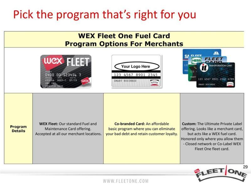wex fleet one ppt - Wex Fleet Card