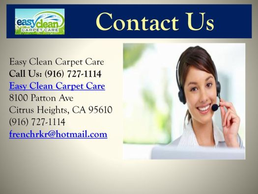 Easy Clean Carpet Care Citrus Heights Ca 95610 Lets See