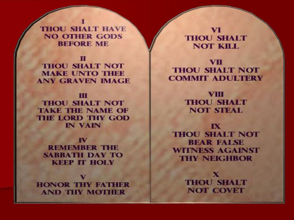 10 Commandments Kjv Printable That Are Refreshing