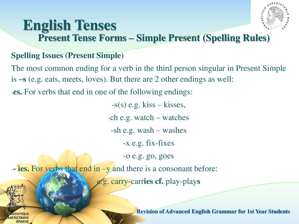 English Grammar For Academic Purposes