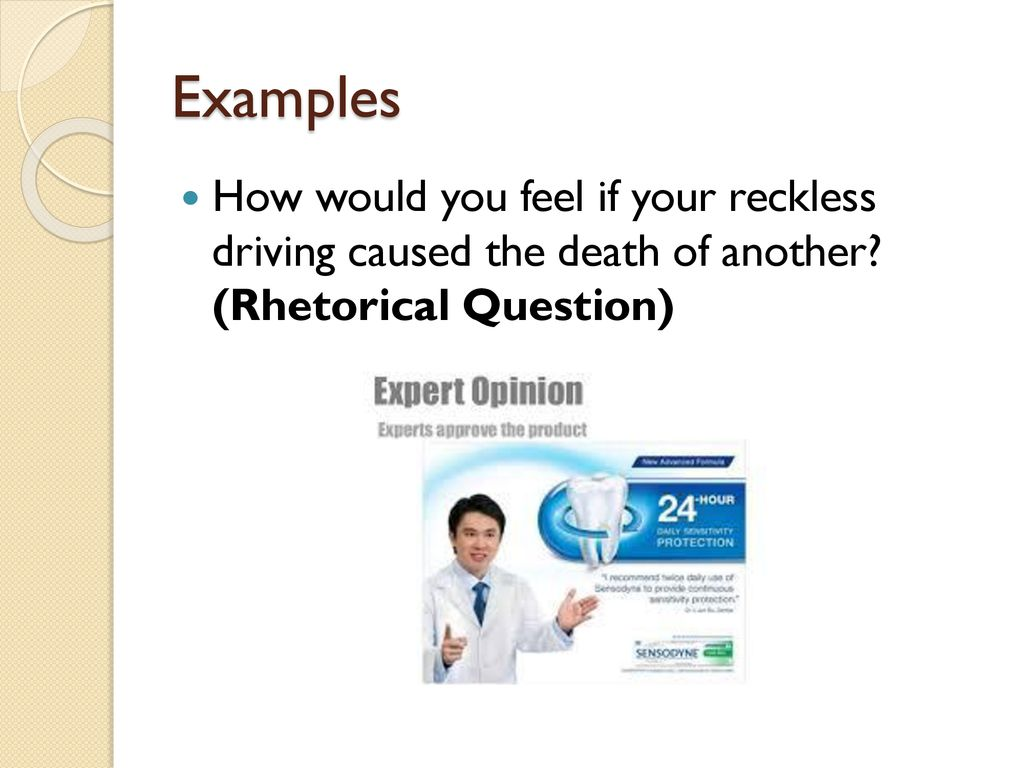 Rhetorical Question Advertisement Examples The Power Of