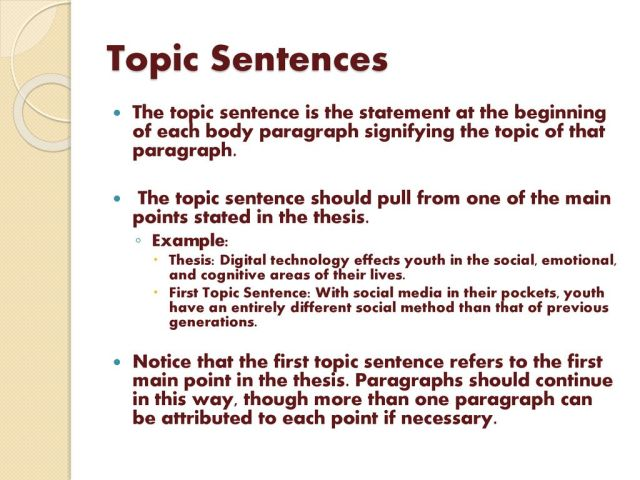 How to Write Good Paragraphs - ppt download