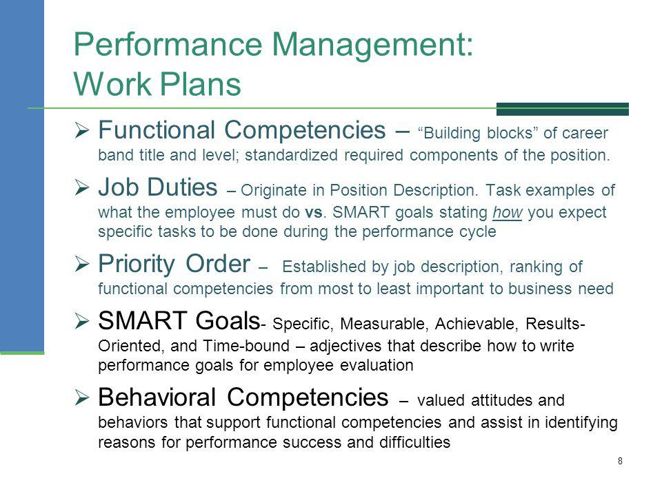 Employee Evaluation Comments And Phrases