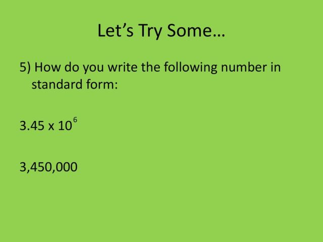 Scientific Notation Notes CCSS Math 25.EE.A.25 - ppt download