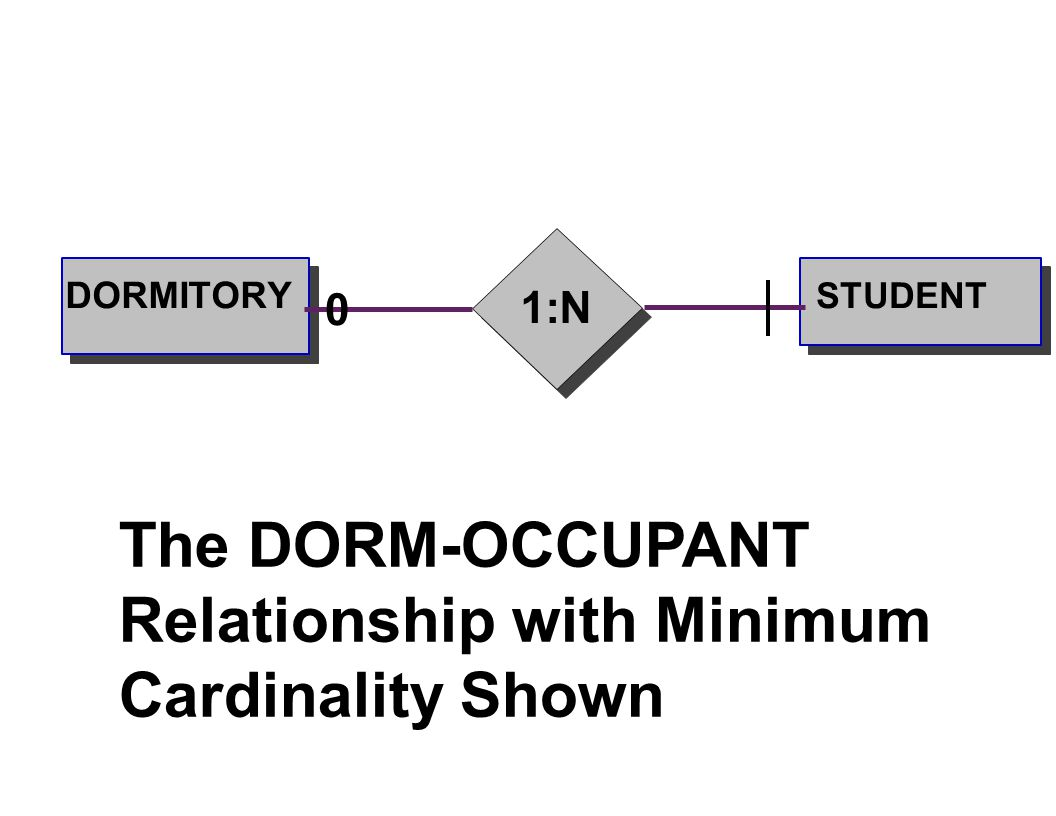 Database Data Modeling Using The Entity Relationship Model