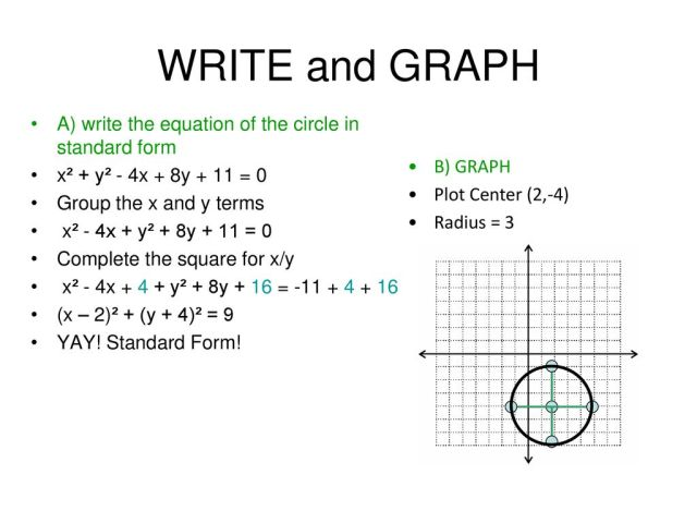 Equations of Circles. - ppt download