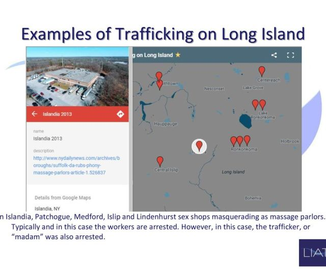 Examples Of Trafficking On Long Island