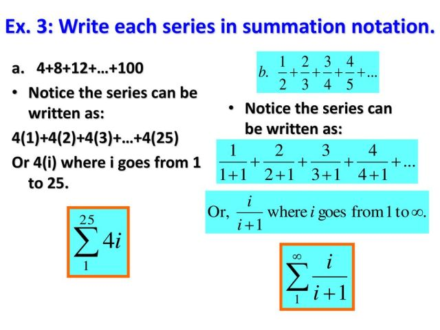23.23 Define & Use Sequences & Series - ppt download