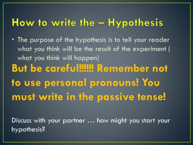 How to write a scientific report - ppt download