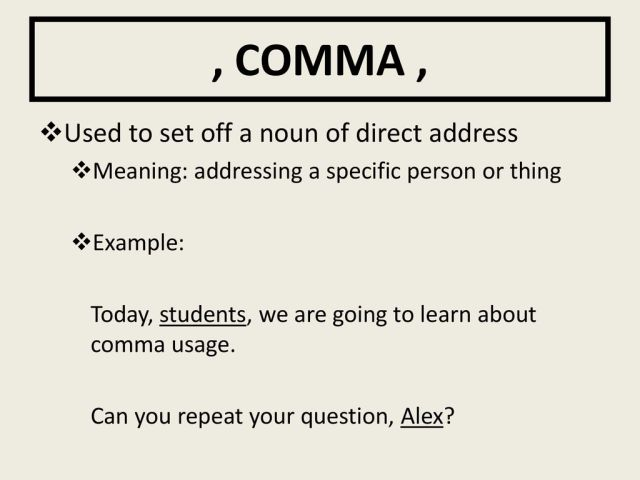 Punctuation Composition. - ppt download
