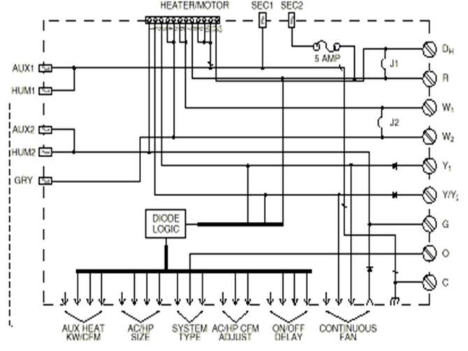 ecm blower motor wiring diagram  schematic wiring diagram