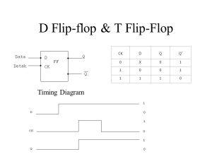 Rangkaian Sequensial RS Flip – Flop JK Flip – Flop T Flip
