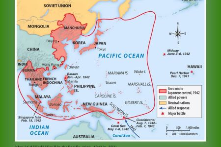 world war ii pacific theater map » Full HD MAPS Locations - Another ...