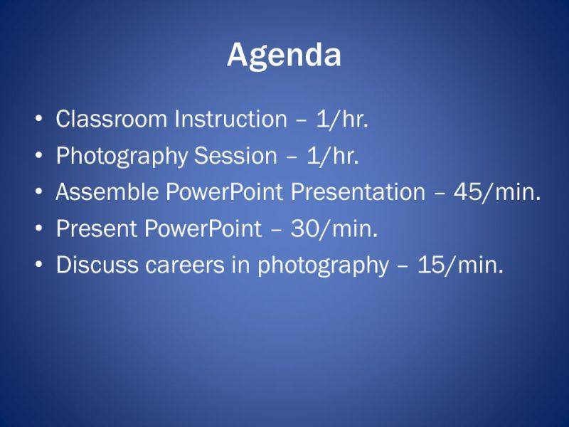 Photography Merit Badge   ppt video online download Agenda Classroom Instruction     1 hr  Photography Session     1 hr