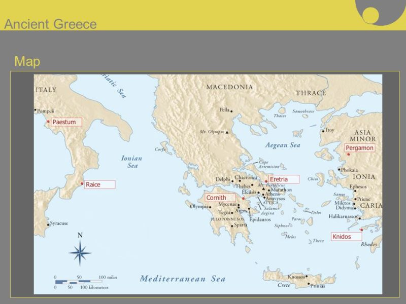 Ancient Greece Map    ppt video online download 1 Ancient Greece Map