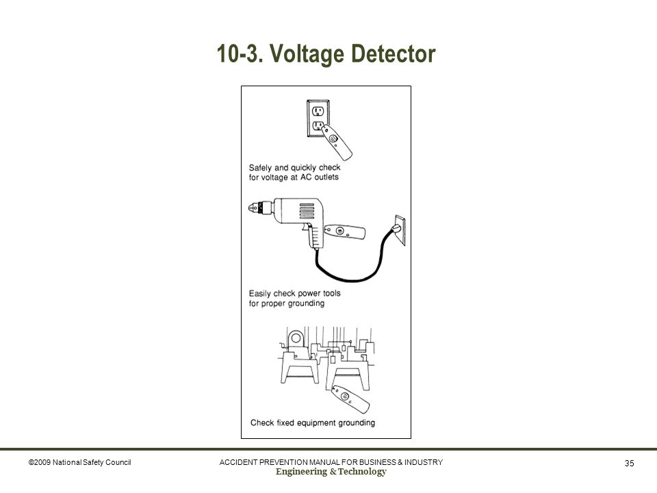 Ground Fault Detector Circuit