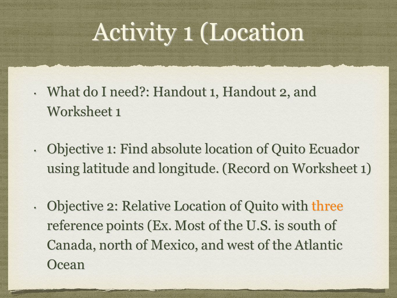5 Themes Of Geography Of Ecuador