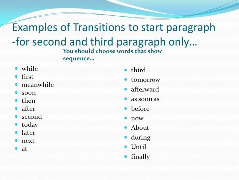 how do you start a paragraph in an essay